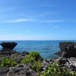 沖縄 南城市 奥武島の竜宮神 絶景パワースポット