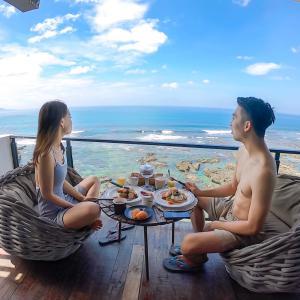 【墾丁ホテル】室内180度海が見える絶景民宿ホテル。海を眺めながら食べる朝食も絶品の隠れ家へ泊まりに行きませんか?