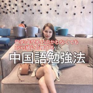 【中国語学習】留学1年、日々の勉強特に無し+テスト勉強0でHSK5級に合格する話。