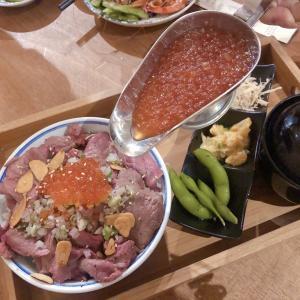 【台中グルメ】牛肉+山盛りいくら丼のコスパがヤバ過ぎる!!!焼うどんもモチモチの台中人気居酒屋