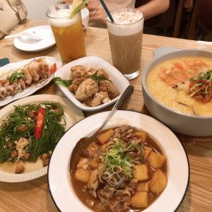 【台中グルメ】昔ながらの台湾料理と台湾茶を綺麗なカフェ店内で楽しめる「做茶菜」まさか…春水○を超える…!?