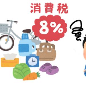 【軽減税率】消費税8%のものは?キャッシュレス5%還元との関係とは?