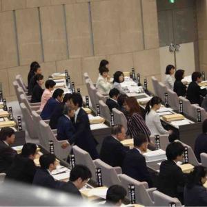 オリンピック人権条例の審議継続を求め苦渋の退席へ