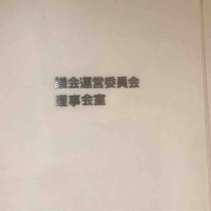 """わたしが苦手な THE""""議運委"""""""