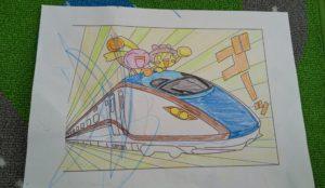 子どもとのおうち遊びに最適 ☆ 「鉄おも」から無料でダウンロードできる可愛い電車の塗り絵