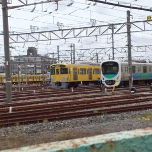 上石神井車両基地 ☆ 車両基地内の西武車両が近くで見えるおすすめの場所