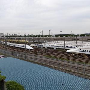 ドクターイエローがある!新幹線の大井車両基地を見るおすすめ場所