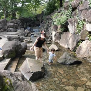飛鳥山公園【水遊びができる新幹線のビュースポット】無料でモノレールにも乗れる