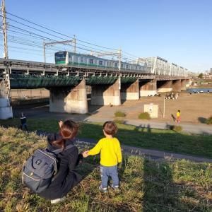 多摩川橋梁を渡る鉄道のビュースポット【子供と一緒におすすめ】横須賀線と東海道新幹線