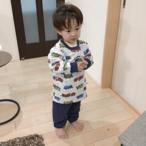 子供が大好き【ユニクロ「トーマス」のパジャマ】肌触りが良いキルト生地で暖かく冬にオススメ!