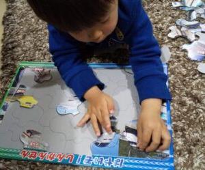子供の知育にオススメ【2歳でも遊べるパズル】達成感で学習意欲を高める