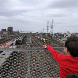 幕張車両センター【成田エクスプレスも見られる】車両がずらっと並ぶオススメ車両基地