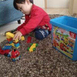 子供の創造力を育むのにオススメ【アンパンマン ブロックのおもちゃ】幼少期の知育に役立つ