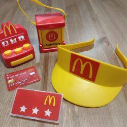 なりきりマクドナルドで楽しくごっこ遊び【ハッピーセットのおもちゃ】可愛いグッズがいっぱい