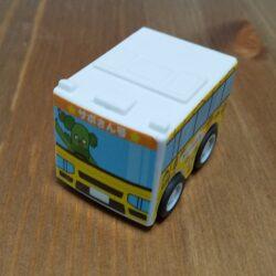 みいつけた!のおもちゃをゲット【はま寿司のはまっこセットのガチャ】可愛いバスとキューブ