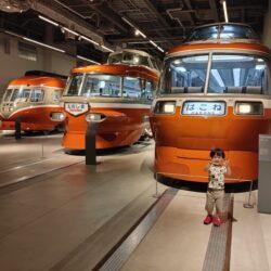 ロマンスカーミュージアム【小田急のカッコいい車両がいっぱい】自分だけのロマンスカーも作れた