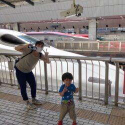 【小さい子供と一緒の新幹線】オススメ座席はどこ!?持っていって良かった物は!?