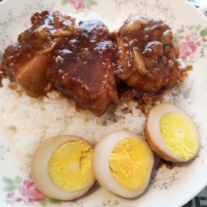 豚バラの角煮丼☆ミ