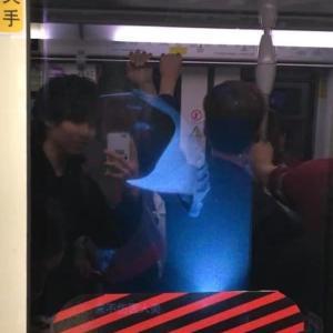 不思議な広告【上海の地下鉄】
