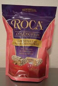 COLLECTION ALMOND and sea salt CARAMEL ROCA