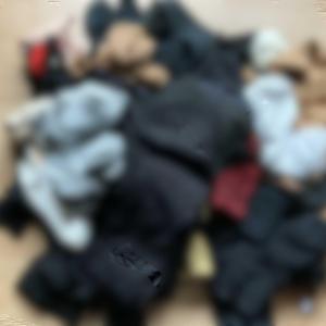 断捨離 靴下の山🧦