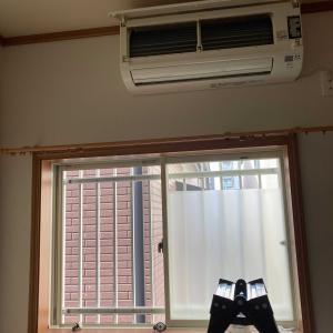 エアコンとサッシのお掃除🧤🧹
