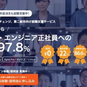 完全無料 IT業界・エンジニア正社員への 転職率97.8%