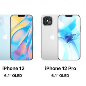 iPhone 12 の各機種の名称が mini、無印、Pro、Pro Maxで決定か!?