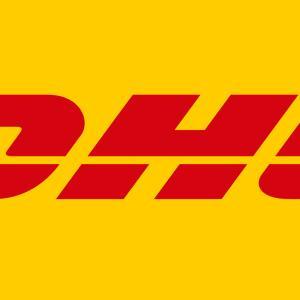 中国輸入 DHLでの発送  発送から6日で到着