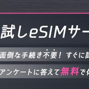 IIJmio お試しeSIMサービスを利用してみた 申し込み〜eSIMの導入までを解説
