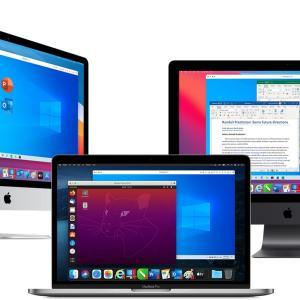 Parallels Desktop 16 for Mac + 10 種類のアプリ95%OFF 2月28日まで