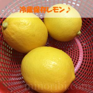 レモンが大好きになってしまった!上手に保存しよっ