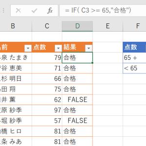 エクセルのIF関数にIF関数を重ねていく入れ子を使用する際の19のポイント