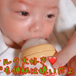 【新生児/便秘】我が家の使ってるミルクや便秘に効く運動