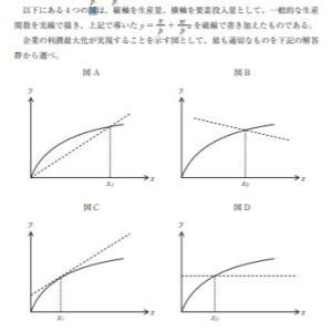 【過去問解説(経済学)】H28 第21問 生産関数