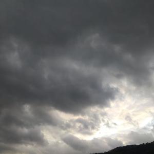 ドラマチックな空。