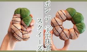 【手作りスクイーズ】ポン・デ・宇治抹茶スクイーズの作り方🍵