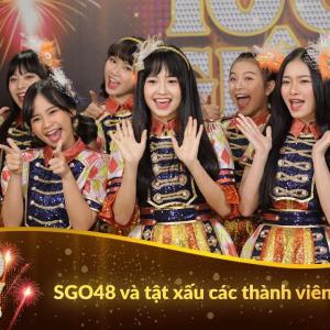 SGO48 và tật xấu của các thành viên | 100 giây rực rỡ mùa 2