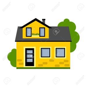 カドの黄色い家