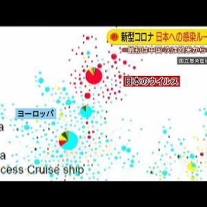 第3、4波は必然・・・日本へのルート解明の感染研が警戒(20/04/28)