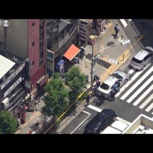 大阪・JR天満駅近くの店舗で血まみれの女性遺体