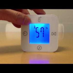 イケア IKEA LOTTORP ロットルプ 時計/温度計/アラーム/タイマー