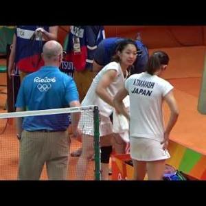 日本オリンピックバドミントン初金メダル