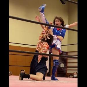 プロレスデビュー4戦目、負けても逸材っぷりが凄い荒井優希!