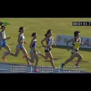 【ホクレン・ディスタンス】2021年7月17日(土)女子1500m  田中希実 日本新記録