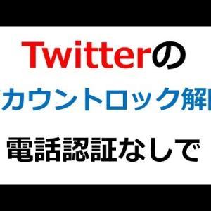 【電話認証なし】Twitterのアカウントロックを解除する方法【ブログ学部#8】