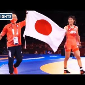 川井梨紗子がリオに続く連覇! 姉妹で金メダル獲得 決勝ハイライト