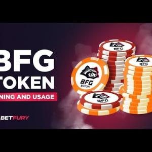 How to mine and stake BFG tokens on BetFury?