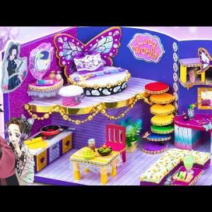 【鬼滅の刃】美しい 胡蝶しのぶの新しいミニチュアハウスを建てる 💖 しのぶと義勇の争い 💖 富岡はしのぶの古い家を壊した【鬼滅の刃漫画】💖 Demon Slayer House  #65