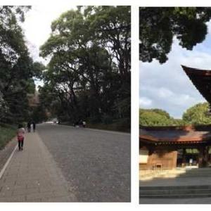 2018年暮れ。 東京散策のはなし。